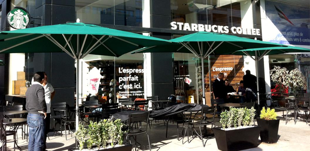 Starbucks Coffee - Casablanca